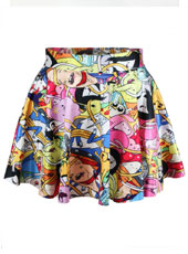 Adventure Time Short Skirt S,M,L,XL MH8005
