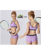 Purple top and panty sports sets S,M,L MH4095