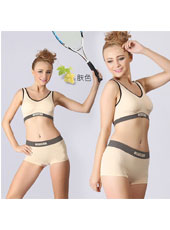 Nude top and panty sport sets S,M,L MH4096