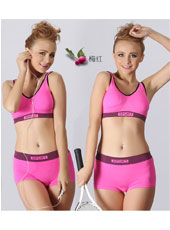 Red top and panty sport set S,M,L MH4100