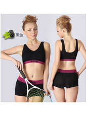 Black top and panty sport set S,M,L MH4101