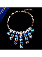 Blue Pearl Necklace MH9017