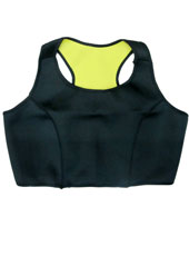 Black  Hot Shapers Vest Top S-3XL MH1086