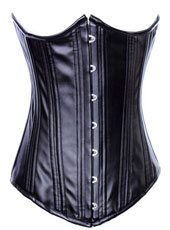 Black Full Steel Bone Corset  S-XXL  MH1159