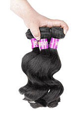 Unprocessed Brazilian 6A Loose Wave Human Hair Extension S-9XL MH15027