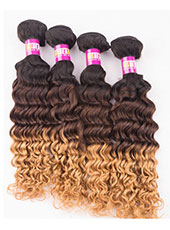 Brazilian Deep Wave Unprocessed No Shedding No Tangle Hair ExtensionS-9XL MH15030