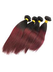 Brazilian Ombre Straight Hair Extension M-7XL MH15038