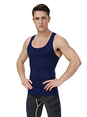 Blue Seamless Fitness Men-Corsets M, L, XL MH1319