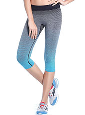 Blue And Grey Sport Cropped Trousers M, L MH13114