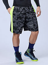 Grey Camouflage Loose Men Sport Shorts M-XL MH13131