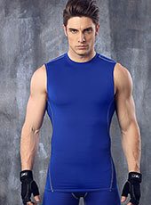 Blue Fitness Breathable Gym Vest M-XL MH4289