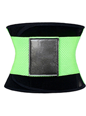 Green Fitness Ventilate Waist GirdleXS-3XL MH1264