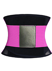 Red Fitness Ventilate Waist Girdle XS-3XL MH1265
