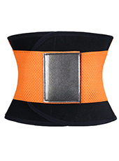 Orange Fitness Ventilate Waist Girdle XS-3XL MH1260