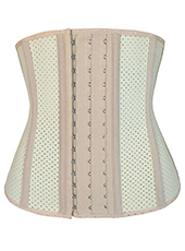 Nude Latex Slimming Waist Training Corset MH1402