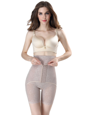 Nude See-Through Detachable Body Shaper With Hooks L-4XL MH1576