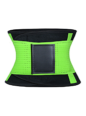 Green Neoprene Sauna Slimming Waist Belt  MH1663 S-2XL