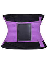 Purple Neoprene Slimming Waist Belt MH1662 S-2XL