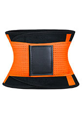 Orange Neoprene Slimming Waist Belt MH1665 S-2XL