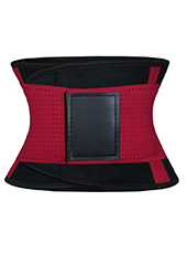Red Neoprene Slimming Waist Belt MH1667 S-2XL