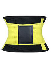 Yellow Neoprene Slimming Waist Belt MH1668 S-2XL