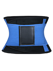 Blue Neoprene Slimming Waist Belt MH1664 S-2XL