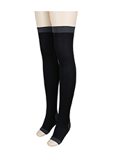 Black High Press Slimming Sleeping Legs One Size MH1618