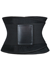 Black Neoprene Slimming Waist Belt MH1659 S-2XL