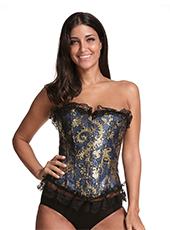 Women Lace Side Sexy Waist Corset S-6XL MH1686