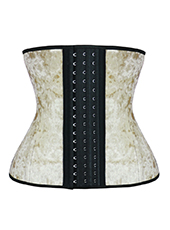 Nude Gold Velvet Latex Waist Trainer XXS-6XL MH1707