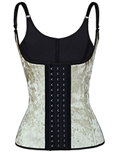 Nude 9 Steel Bones Latex Vest Waist Trainer XXS-3XL MH1709