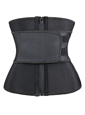 Three Layers Waist Trainer Belt With Zipper XS-3XL MH1698