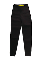 Black Neoprene Sweat Pants S-4XL MH1732