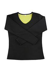 Long Sleeve Neoprene Shaper Shirt S-4XL MH1739