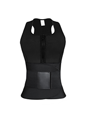 Sauana Shaper Vest With Double Belt XS-3XL MH1753