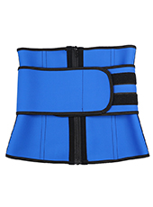 Three Layers Waist Trainer Belt With Zipper MH1697