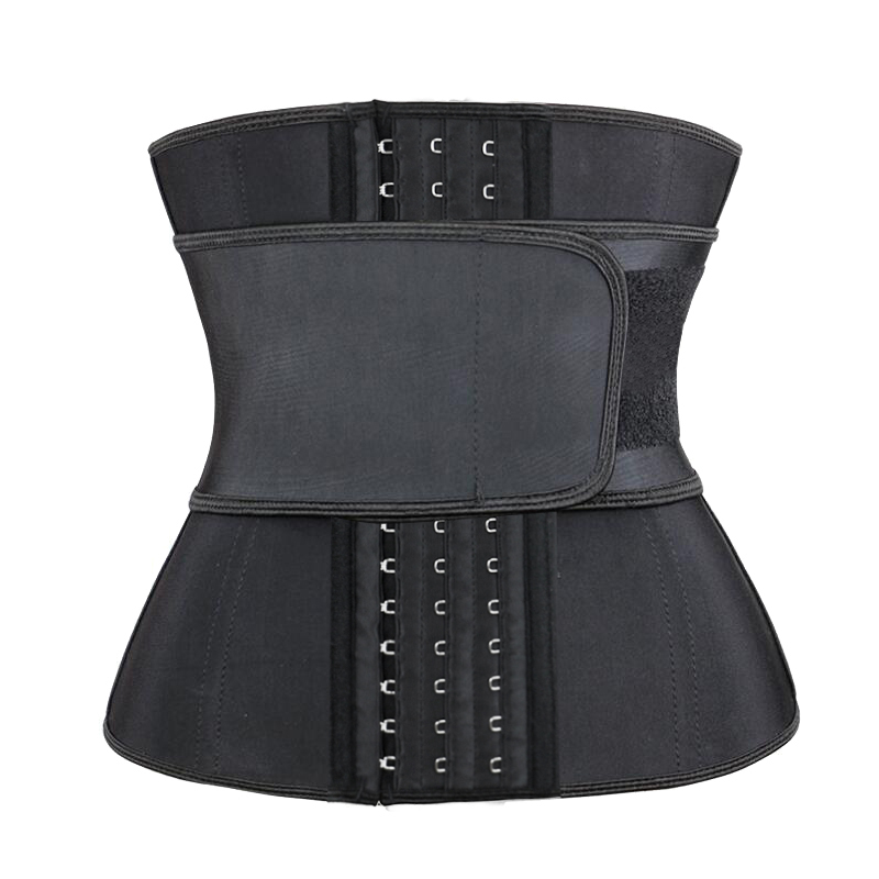 Black Hooks Latex Waist Trainer 3XS-6XL MH1763