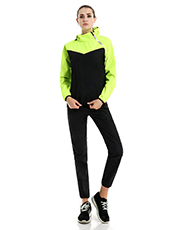 Stitching Color Couple Fitness Sweat Suit M-4XL MH1799