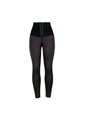 Black Shaping Pants Upper Legging with Hook  MH13350B