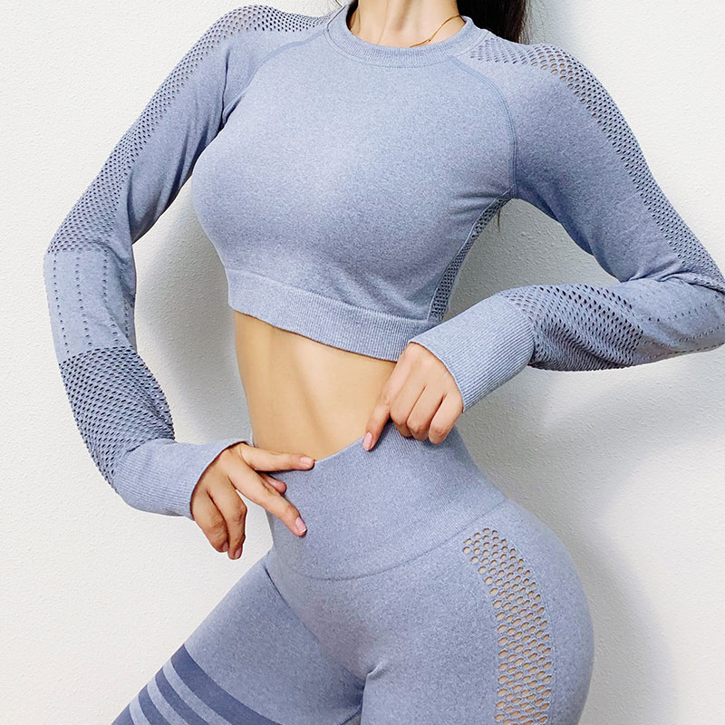 Long Sleeve Yoga Workout Sets MH133557