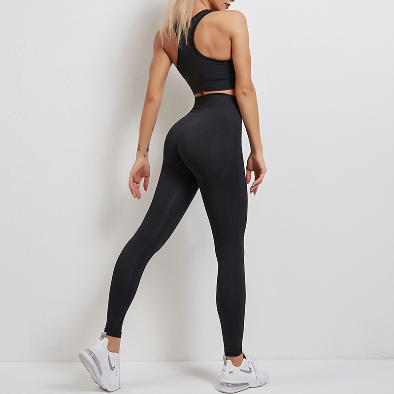 Yoga Tights Sports Bra and Leggings Set MH13351A