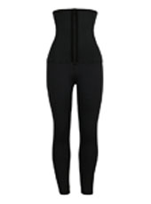 Neoprene classical waist trainer jumpsuit pants MHW100147B